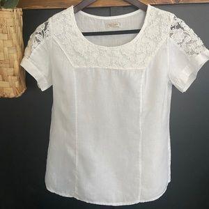 Lina Tomei Linen Shirt Made in Italy sz Medium